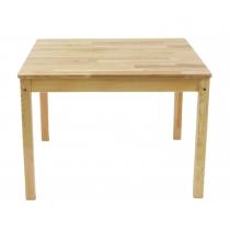 Keturkampis medinis stalas