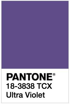 PANTONE18-3838 Ultra Violet