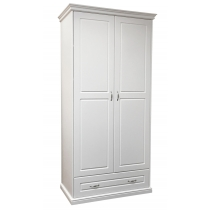 Classical 2-door wardrobe