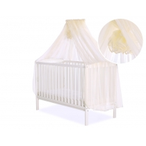 Mosquito-net made of Chiffon 470 x 160 cm - cream