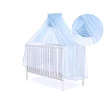 Mosquito-net made of Chiffon 470 x 160 cm - blue
