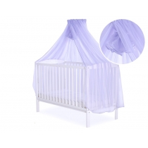 Mosquito-net made of Chiffon 470 x 160 cm - lilac