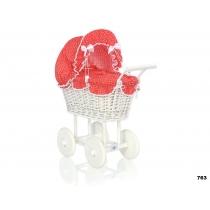 Vežimėliai lėlėms DIANA - balti - 289