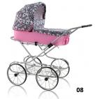 Lėlių vežimėliai EMILIE RETRO 08