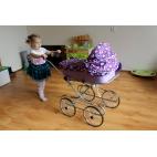 Lėlių vežimėliai EMILIE RETRO 10