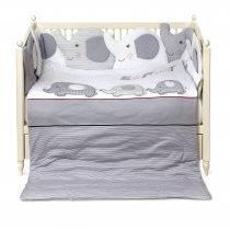 Baby bedding set ELEPHANT FAMILY