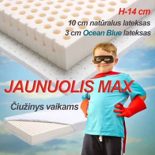 Latex mattress for children JUNIOR MAX