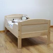 Bed for kindergarten  with protections