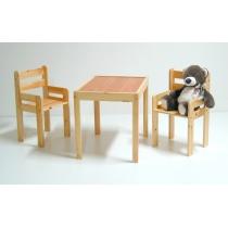 Staliukas su 2 kėdutėmis RALF