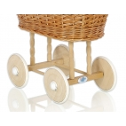 Wicker cribs for doll