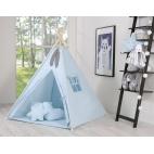 Teepee tent - blue