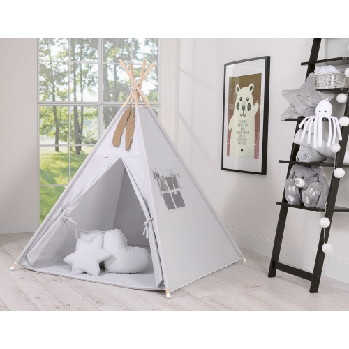 Teepee tent for children's - grey