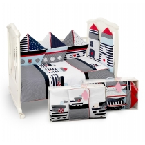 Bedding set for baby BOATS