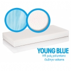 Mattress for children YOUNG BLUE