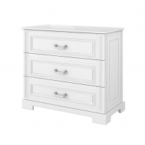Chest of 3-drawers BELL-IN, White