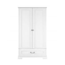 Wardrobe 2-doors BELL-IN, white