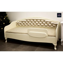 Bed for children CHARLOTTE with soft upholstered