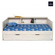 Bed for children MOON with side shelf