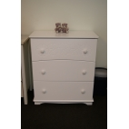 Chest of drawers FLOWER VICTORIA with 3 drawers