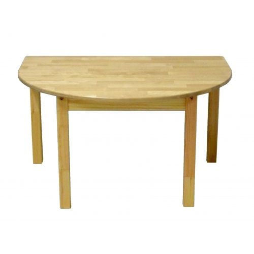 Half-rounded table 870x870 mm Kindergartens