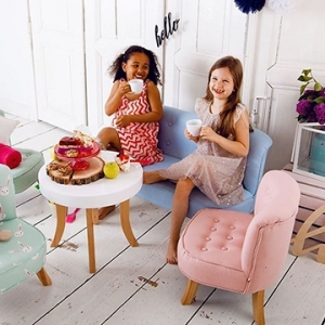 Children's chairs, tables, armchairs, sofas