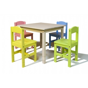 Kindergartens chairs and tables