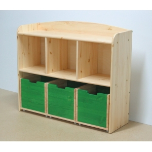 Kindergarten shelves
